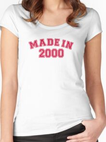Made in 2000 Women's Fitted Scoop T-Shirt