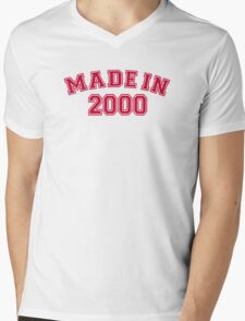 Made in 2000 Mens V-Neck T-Shirt