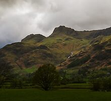 The Langdale Pikes by john collier