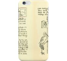 The Mother Hubbard Picture Book by Walter Crane - Plate 06 - Preface and Friends iPhone Case/Skin