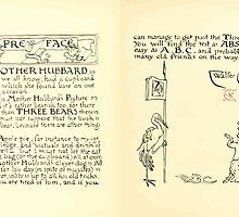 The Mother Hubbard Picture Book by Walter Crane - Plate 06 - Preface and Friends by wetdryvac