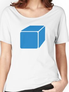 Blue cube Women's Relaxed Fit T-Shirt