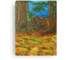 Fallen Giant Canvas Print