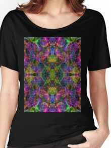 Trip-O-Vision Online Gallery Design 5: Neon Bright Women's Relaxed Fit T-Shirt