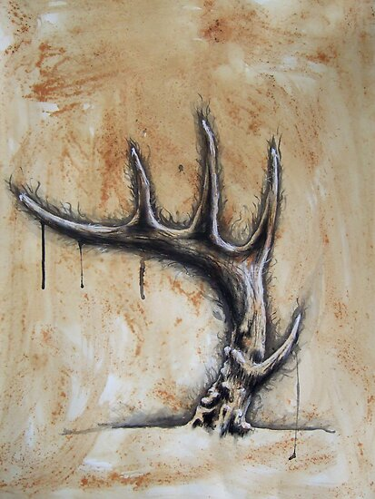 antler by kevinthehuman