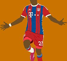 David Alaba Minimalist  by MisterJfro