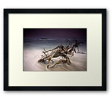 Tangled Surf Framed Print