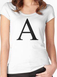 Alpha Women's Fitted Scoop T-Shirt