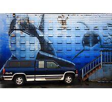 the deep blue (gm)sea Photographic Print