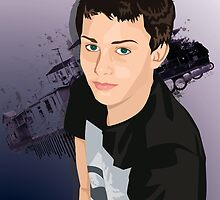 Teen Boy Vector Study by shanmclean