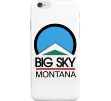 Big Sky Resort Montana iPhone Case/Skin