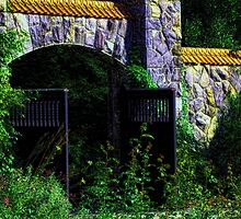 Cottage Gate by Darlene Lankford Honeycutt