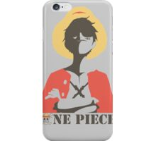 Luffy King Pirate One Piece Anime iPhone Case/Skin