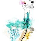 Dreamy Emu by Tiffany Atkin