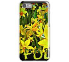 DAFFODILS ARTWORK iPhone Case/Skin