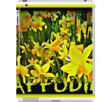 DAFFODILS ARTWORK iPad Case/Skin