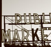 Public Market Sticker