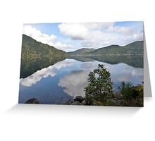 Lake Crescent, Washington Greeting Card