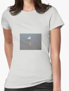 MIRRORED Womens Fitted T-Shirt