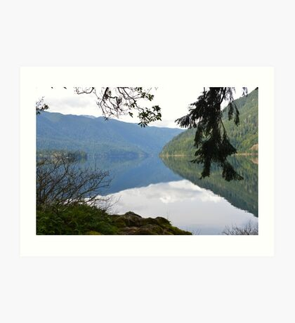 Lake Crescent, Washington Art Print