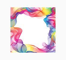 Rainbow Ribbons Background Unisex T-Shirt