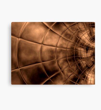 Copper Plate  Canvas Print