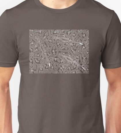 Barni - goanna / Simply white  Unisex T-Shirt