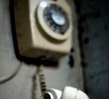 Vintage Phone by mykalcooper