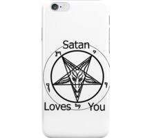 Satan Loves You iPhone Case/Skin