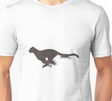 Running cheetah Unisex T-Shirt