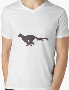 Running cheetah Mens V-Neck T-Shirt