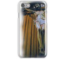 Crucifix in Santa Clara Mission iPhone Case/Skin