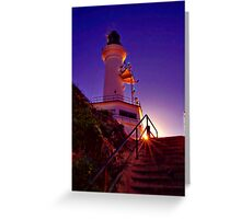 """Stairway to the Light"" Greeting Card"