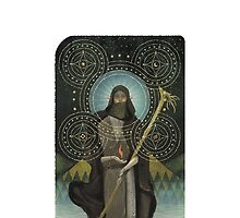 Dragon Age Tarot Card Optimized - Solas by packmama