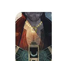 Dragon Age Tarot Card Optimized - Varric by packmama