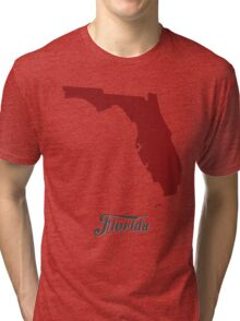 Florida - States of the Union Tri-blend T-Shirt