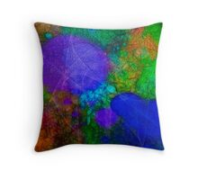 ABSTRACT DIGITAL 04 Throw Pillow