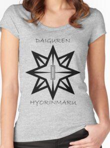 Bleach Toshiro Daiguren Hyorinmaru Guard Women's Fitted Scoop T-Shirt