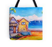Summer Shacks Tote Bag