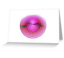 Reflector lens Greeting Card