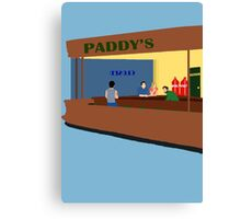 Nighthawks At The Pub Canvas Print