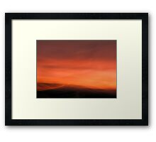 Summit Framed Print