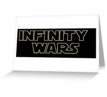 Avengers: Infinity Wars Greeting Card