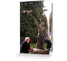 Child St. Anthony And Faithful Greeting Card