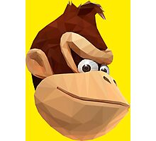 Donkey Kong - Triangulation Vector Photographic Print