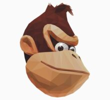 Donkey Kong - Triangulation Vector by Red82Creative