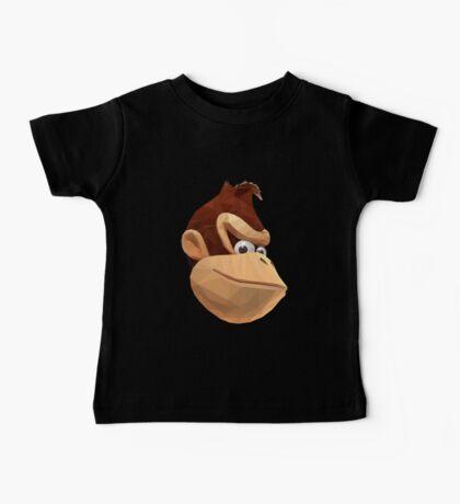 Donkey Kong - Triangulation Vector Baby Tee