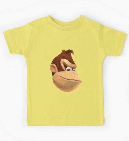 Donkey Kong - Triangulation Vector Kids Tee