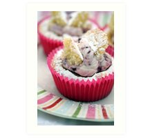 Butterfly Cakes Art Print