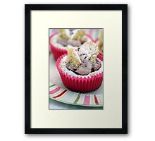 Butterfly Cakes Framed Print